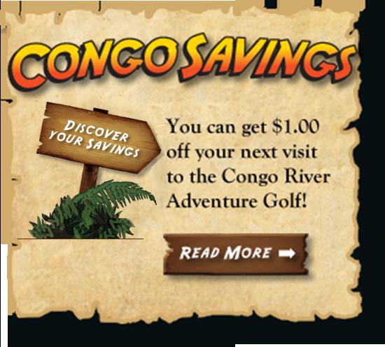 Congo river golf discount coupons